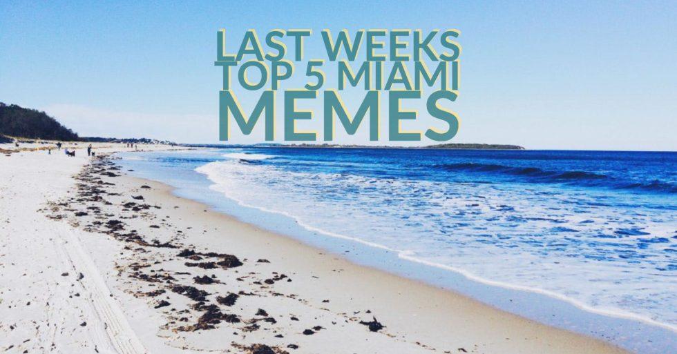 Last Weeks Miami Memes