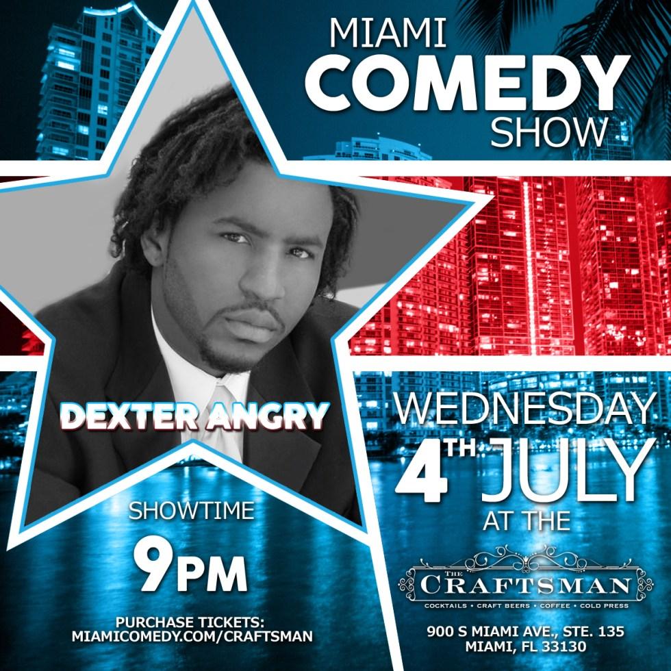 4th of July Miami Comedy Show