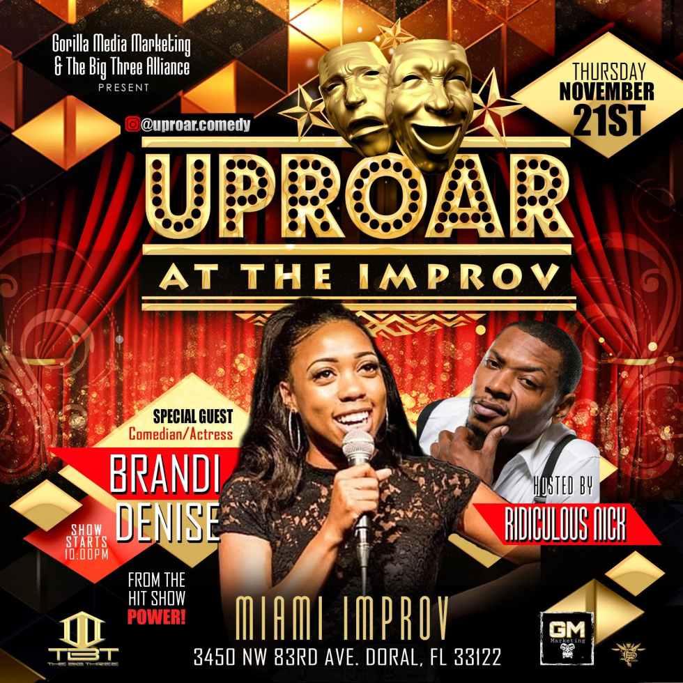 Uproar At The Improv Featuring Brandi Denise