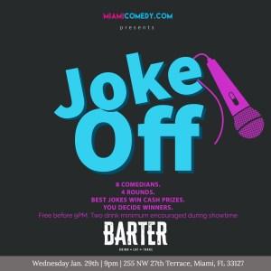 Miami Comedy Joke Off