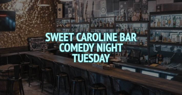 Sweet Caroline Karaoke Bar Comedy Night