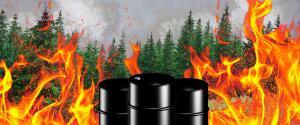 Brukner Set Ablaze By Improper Fracking