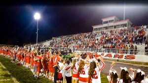 Troy Defends County Seat In Victory Over Piqua Football