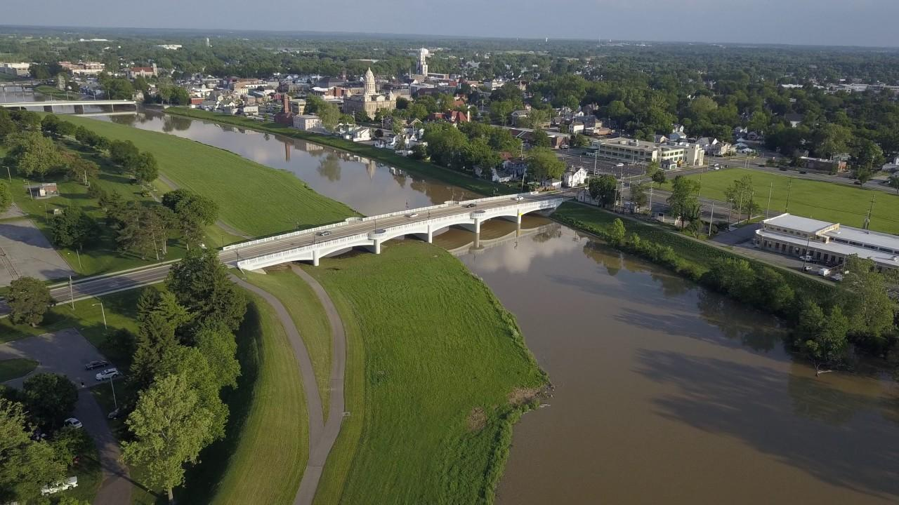 Miami River Levee To Expand 1 Mile By 2040, Swallow Downtown Troy