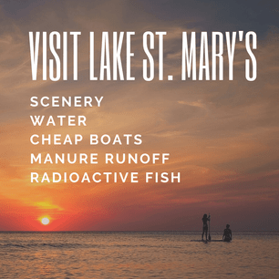 Visit Lake St. Mary's Today