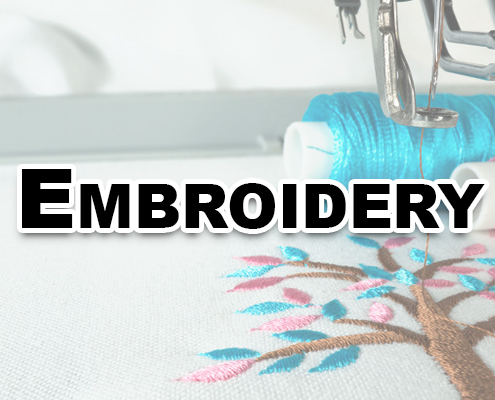 embroidery for custom t shirts miami and t shirt printing for Medley Hialeah Miami lakes Miramar Doral