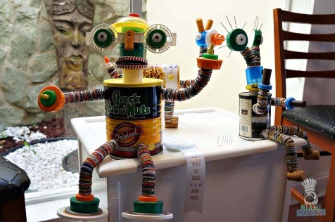 Taste History - Art League Robots
