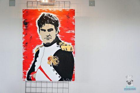 ToT - Roger Federer Painting