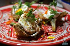 Saffron Supper Club - Byblos - Crispy Artichokes