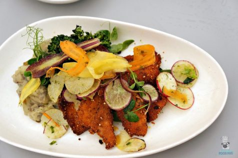 DIRT - Spring Summer - Spring Plate Quinoa-Crusted Fish