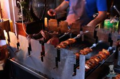 Dutch BBQ - Skewers of Meat