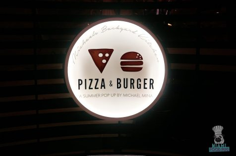 Pizza & Burger - Sign