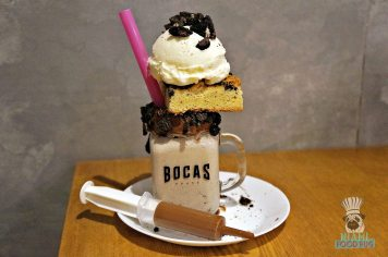 Boca's House - Cookies and Creme Milkshake