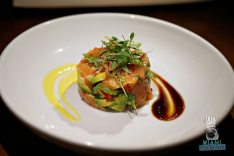 Lure Fishbar – Salmon Tartare