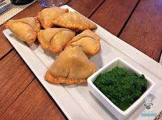 Verde - Guest Chef Series - Niven Patel - Roasted Corn Samosa