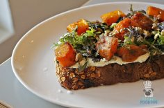 DIRT - Fall Menu - Butternut Squash and Got Cheese Toast