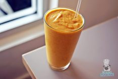DIRT - Fall Menu - Pumpkin Almond Smoothie