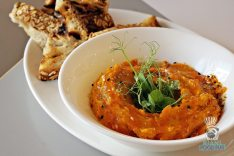DIRT - Fall Menu - Roasted Carrot and Sesame Dip