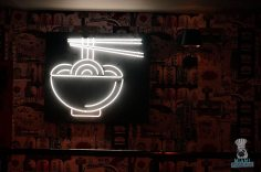 K Ramen. Burger. Beer - Ramen Sign