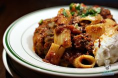 Jack's Miami - Rigatoni with Sunday Gravy