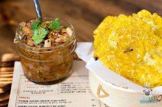 Pubbelly Sushi - Brickell - Tostones con Ceviche