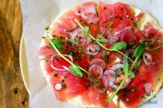 Pubbelly Sushi - Brickell - Tuna Pizza