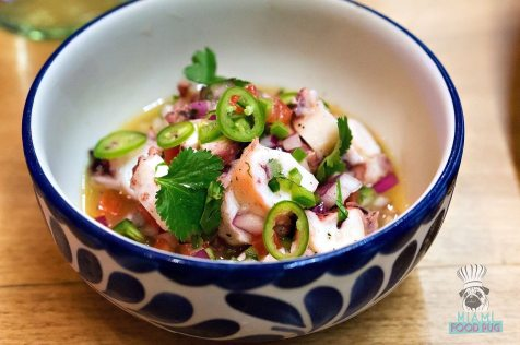 Tacology - Octopus Ceviche