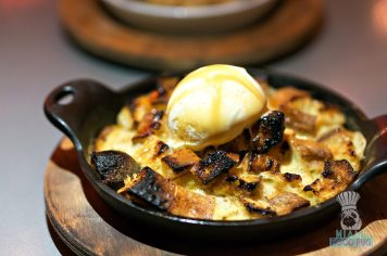 Charcoal - Bread Pudding