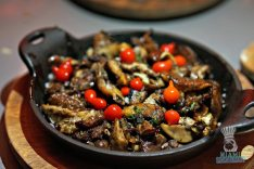 Charcoal - Wild Mushrooms
