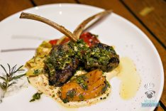 The Restaurant at The Raleigh - Aussie Lamb Rack
