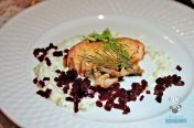 Estancia Culinaria x The Local x Knaus Berry Farm - Sunday Supper - Beet Brined Salmon