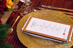 MasterCard Priceless Table - Michael Schwartz - Menu