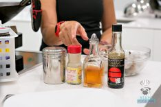 Wok Star - Tamari, Cooking Sherry, White Pepper Powder, Cornstarch
