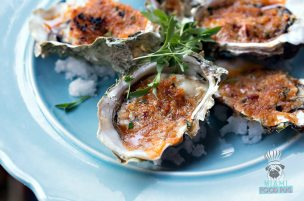 Cafe Roval - Roasted Oysters