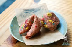Pubbelly Noodle Bar - Fruity Pebbles Fortune Cookie