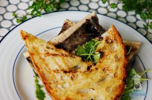 Sherwood's Bistro and Bar - Roasted Bone Marrow