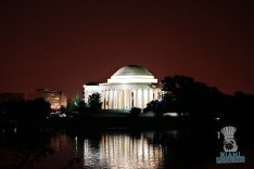D.C. Monuments at Night - Jefferson Memorial