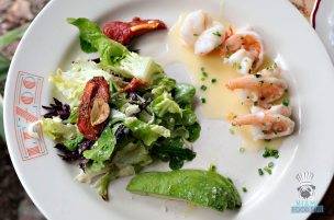 Le Zoo - Brunch - Warm Shrimp Salade