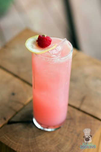 SAAM at the SLS Brickell - Pink Punk Lemonade