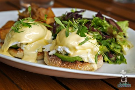 Steak 954 - Brunch - Crab and Avocado Benedict