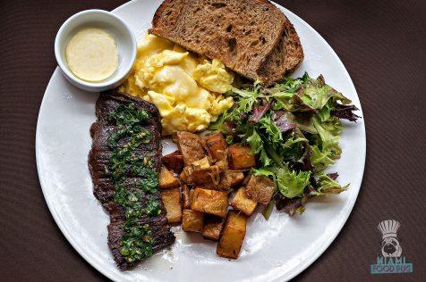 Steak 954 - Brunch - Steak and Eggs