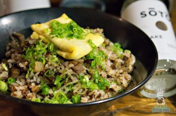 Blue Ribbon Sushi Bar and Grill - Oxtail Fried Rice