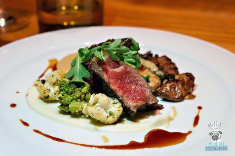 Bourbon Steak CORSAIR kitchen and bar - Miami Spice - Angus New York Strip