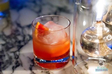 Fontainebleau Miami Spice - Scarpetta - Blood Orange Cocktail