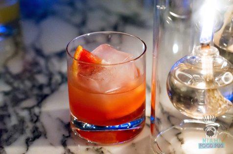 Fontainebleau Miami Spice - Scarpetta - Blood Orange Cocktail