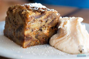 Blue Collar - Butterscotch Heath Bar Bread Pudding