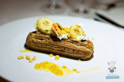 Palme d'Or - Miami Spice - Banana Passion Fruit Eclair