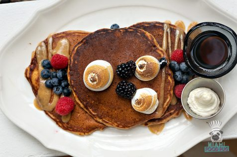 Bird and Bone - Brunch - Sweet Potato Pancake Stack