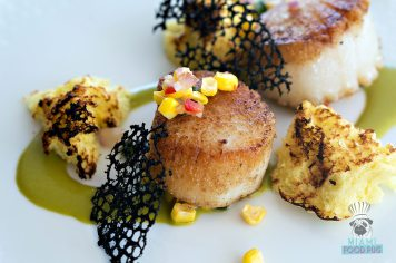 Terra Mare - Seared Scallops