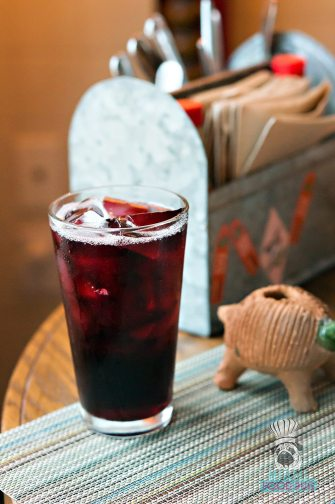 Lolo's Surf Cantina - Breakfast - Hibiscus Agua Fresca